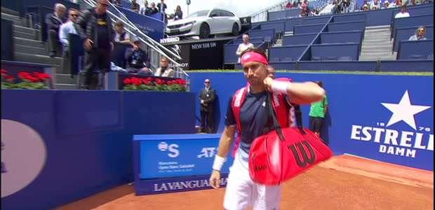 TÊNIS: ATP Barcelona: Ferrer supera Pouille (6-3, 6-1)