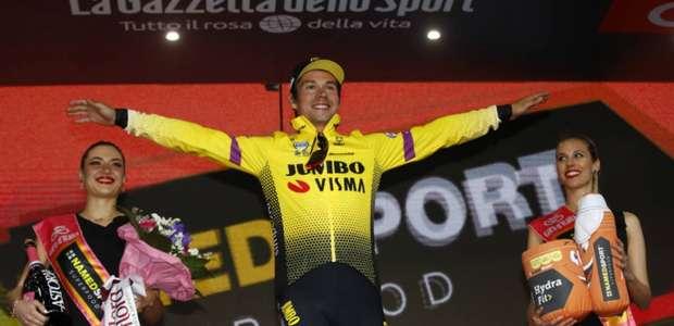 Ciclismo: Eslovaco vence nona etapa do Giro d'Itália