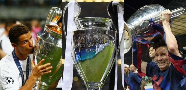 Quem são os jogadores que mais ganharam a Champions League?