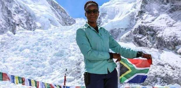 """""""Nunca desista"""", diz primeira negra africana a escalar ..."""