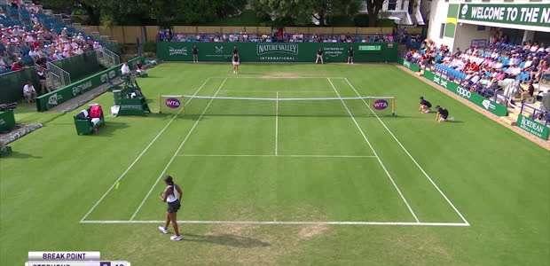 TÊNIS: WTA Eastbourne: Ostapenko venceu Stephens (1-6 ...
