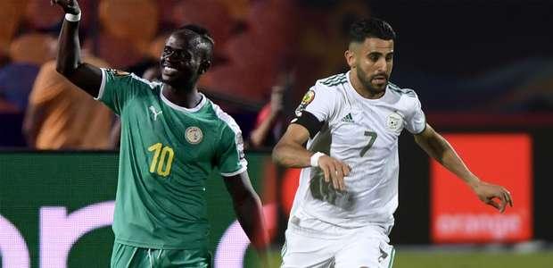 Argélia e Senegal fazem final inédita na África com ...