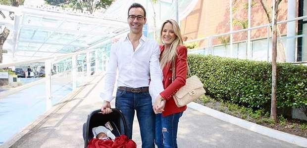 Sandra Annenberg parabeniza Tralli por nascimento de filha