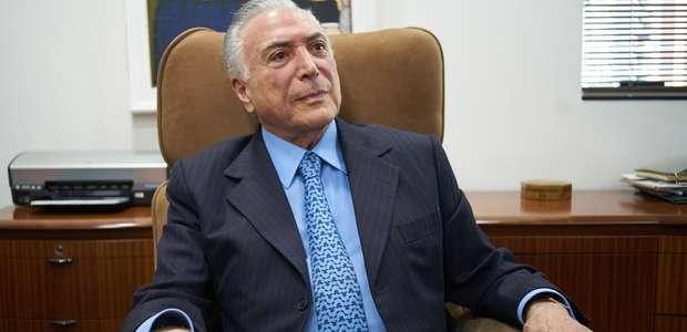 """Temer: """"Governo Bolsonaro vai bem pois dá sequência ao meu"""""""