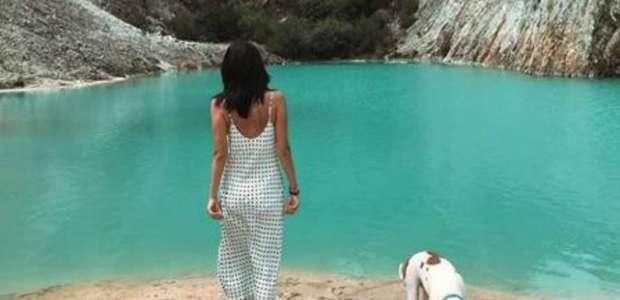 Turistas são hospitalizados após nadarem em falso lago ...