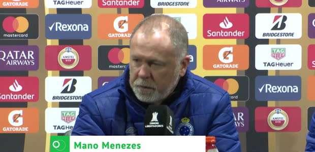 """CRUZEIRO: Mano aponta erros após empate: """"Temos que ..."""