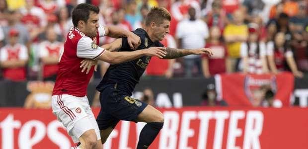 Real Madrid vence amistoso contra o Arsenal nos pênaltis