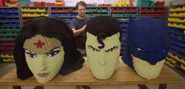 Heróis da DC ganham maior exposição de Lego do mundo e ...