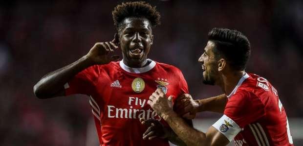 Goleada marca estreia do Benfica no Campeonato Português