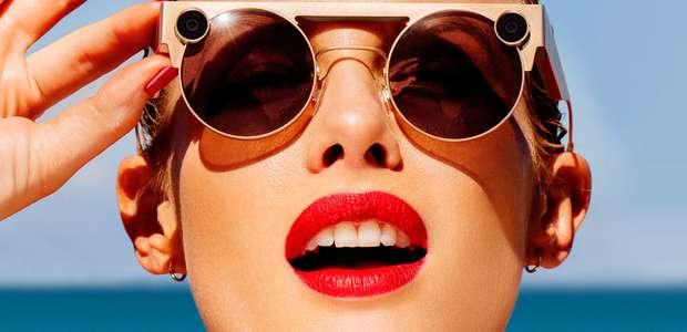 Dona do Snapchat lançar novos óculos de realidade aumentada
