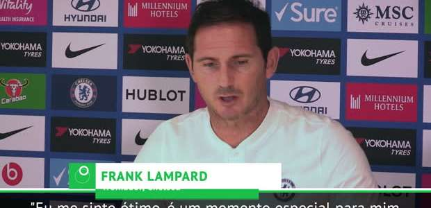 "FUTEBOL: Premier League: Lampard: ""Voltar para o Chelsea ..."