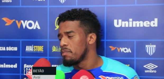 AVAÍ: Betão fala da situação do clube na Série A: ...