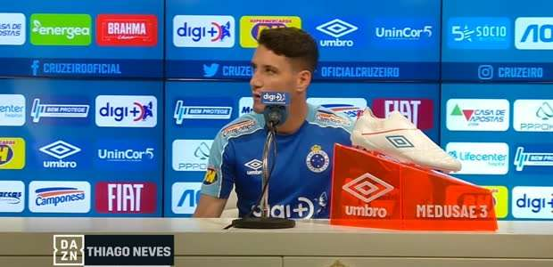 """CRUZEIRO: Thiago Neves sobre o CSA: """"Vamos ter que ..."""