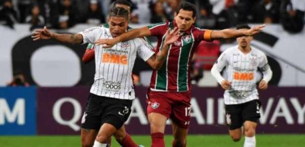 Corinthians e Fluminense empatam sem gols pela Sul-Americana