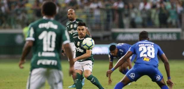 Palmeiras vence o Cruzeiro e vira vice-líder do Brasileiro