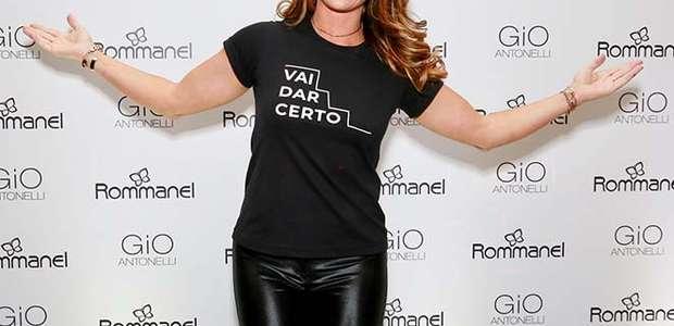 Giovanna Antonelli causa alvoroço em evento