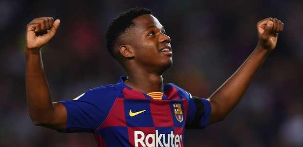 Revelação do Barcelona, Ansu Fati recebe passaporte ...
