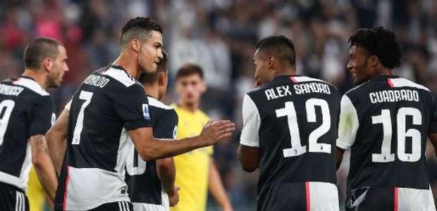Com gol de CR7, Juventus vence Hellas Verona de virada
