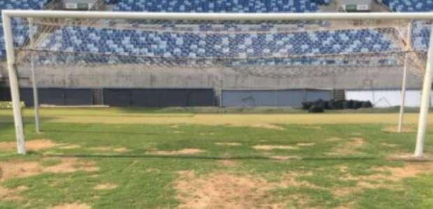 Com Arena Pantanal tendo gramado castigado, Cuiabá x ...