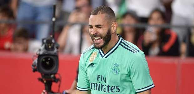 Benzema ao resgate! Contra o Sevilla, francês salva o ...
