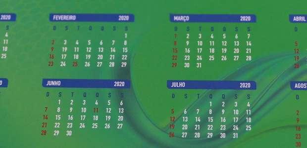 Com Supercopa do Brasil, CBF divulga calendário para 2020