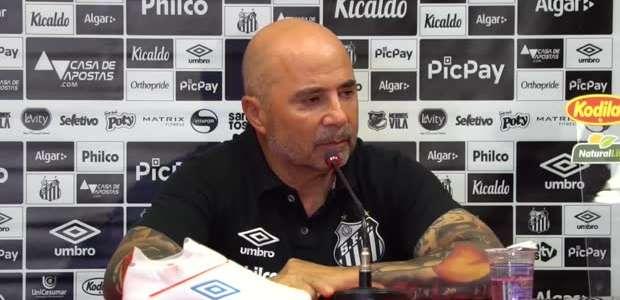 """SANTOS: Sampaoli sobre próximos jogos: """"um sacrifício em ..."""