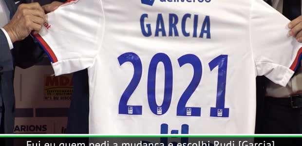 """FUTEBOL: Ligue 1: Juninho: """"Garcia vai trazer a ..."""