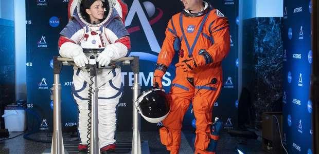 NASA e Virgin Galactic apresentam seus novos trajes ...