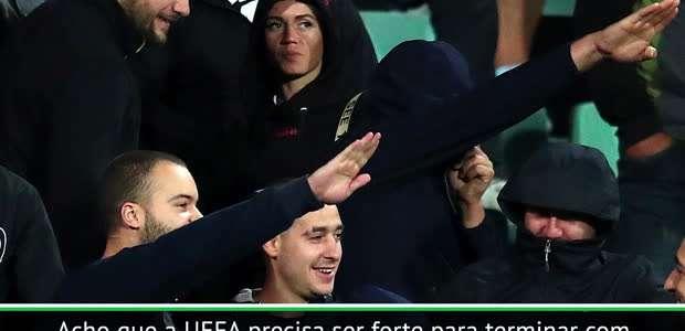 Emery pede 'forte atitude' da UEFA após caso de racismo ...