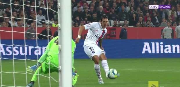 Ligue 1: Di Maria anota duas vezes contra o Nice