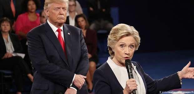 """""""Você está enchendo o meu saco"""": Hillary zomba de Trump"""
