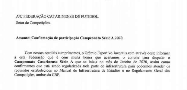 Juventus-SC assume vaga do Almirante Barroso no ...