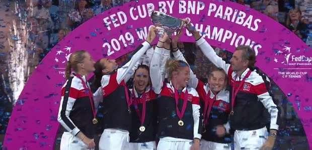 TÊNIS: Fed Cup: França detona Austrália e levanta a Taça!
