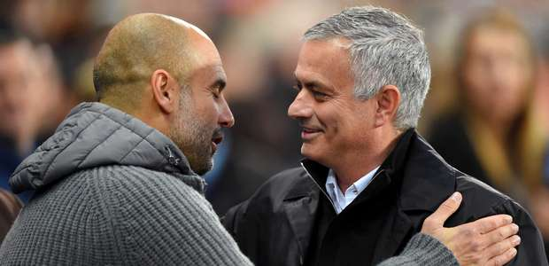 Mourinho no Tottenham esquenta rivalidade com Guardiola: ...