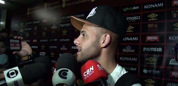 """SPORT: Guilherme não diz se fica no clube: """"deixar com ..."""