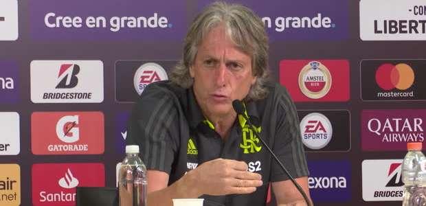 """FUTEBOL: CONMEBOL Libertadores: Jorge Jesus: """"Flamengo é ..."""