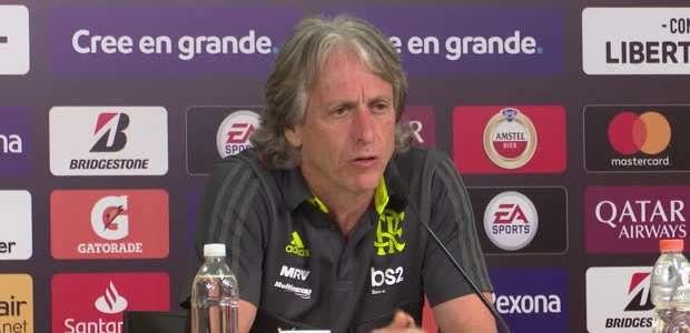 """FUTEBOL: CONMEBOL Libertadores: Jorge Jesus: """"Penso ..."""