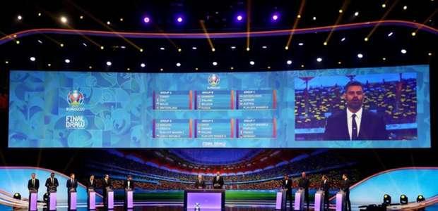 Eurocopa terá grupo da morte com Portugal, França e Alemanha