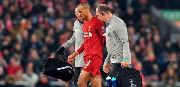 Por lesão, Liverpool confirma Fabinho fora da lista para ...