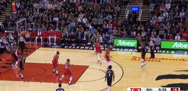 BASQUETE: NBA: Toronto Raptors 109-119 Houston Rockets