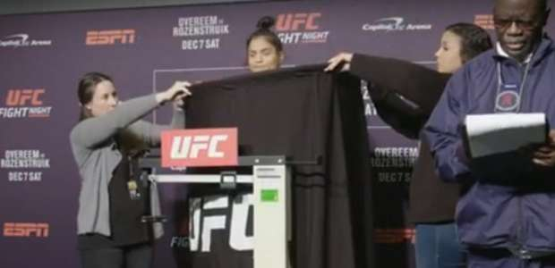 Adversária de brasileira fica 2kg acima do limite no UFC ...
