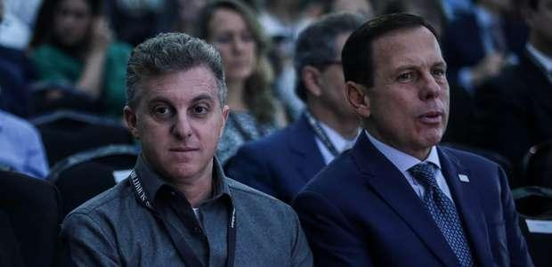 Doria não descarta aliança com Huck para eleições de 2022