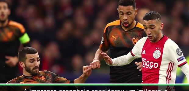 "FUTEBOL: UEFA Champions League: Ten Hag: ""Foi um milagre ..."