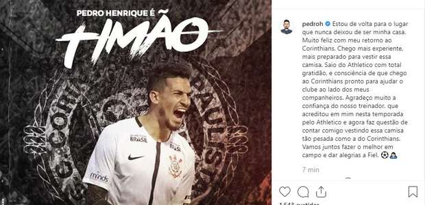 Pedro Henrique garante que volta mais preparado ao ...