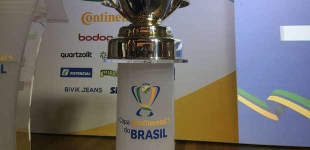 CBF divulga datas e horários da 1ª fase da Copa do Brasil