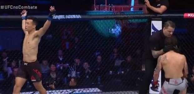 'Zumbi Coreano' vence Edgar; trio brasileiro brilha no UFC