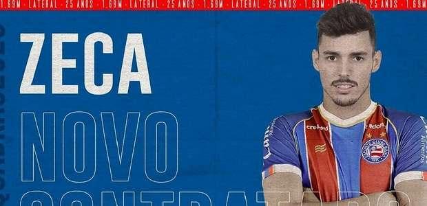 Bahia oficializa a contratação de Zeca por empréstimo
