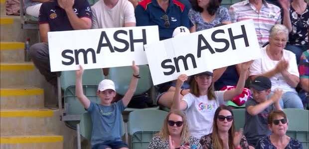WTA Adelaide: Ashleigh Barty v Dayana Yastremska - 6-2, 7-5
