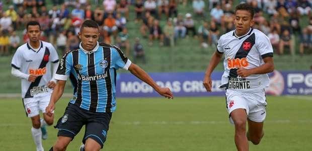 Grêmio bate Vasco nos pênaltis e avança da Copinha