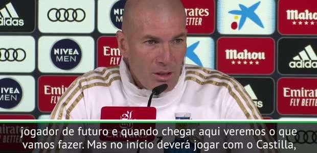 """FUTEBOL: Copa do Rei: Zidane: """"A ideia é que, neste ..."""